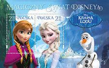 Briefmarken aus Polen mit Disney
