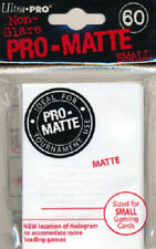 360 Ultra Pro Deck Protector Card Sleeves Pro Matte White Small Yugioh