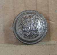 Victorian Rising Cross  Livery Button 22mm  white metal .pewter