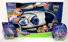 Disney Junior Miles From Tomorrowland Stellosphere Toy Spaceship + Figures Tomy
