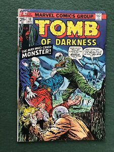Tomb of Darkness #10 Marvel Comics Bronze Age monsters g/vg-