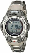 USED Casio G Shock MTGM900DA-8 Stainless Steel Watch 8 Solar Atomic Timekeeping