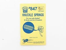 S-Scale & On3 Knuckle Springs Model Train Parts (12) - Kadee #847 < vmf121