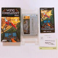 WING COMMANDER Nintendo Super Famicom Japan games SFC SNES