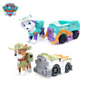 Paw Patrol Dog Everest Tracker Snow Jungle Rescue Pull Back Cars