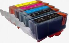 PGI220/CLI221 CANON EDIBLE INK Cartridges for MP560 MP980 MP990 Printer w/CHIP