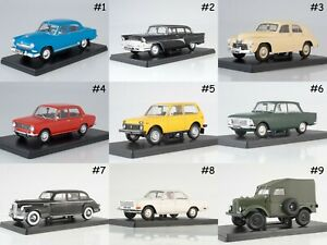 1:24 Legendary Soviet Cars by Hachette