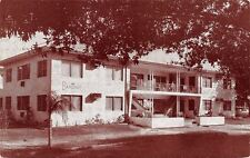 St Petersburg Florida~Baronet Apartments~Locust Street @ 11th Ave NE~1950s B&W