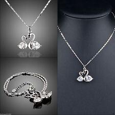 Ovale Modeschmuck-Halsketten Liebe & Herzen