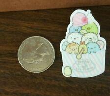 New San-x Sumikko Gurashi Ice Cream acrylic pin