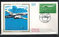 1987 - Fdc enveloppe 1°Jour - Dewoitine 338 - OBL.Toulouse(31)Timbre Yt.Pa. 60