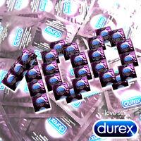 Durex ELITE condoms *Ultra Thin* Extra Sensitive * Intimate Feel x 1 or 100 PCS