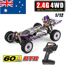 60km/h Wltoys 124019 RTR 1/12 2.4G 4WD Metal Chassis RC Car 550 Brushed Motor AU