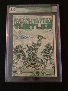 Teenage Mutant Ninja Turtles #4 Signed by Kevin Eastman