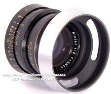 E40.5 Metal Lens Hood 40.5 mm + capuchon pour Biotar 1:2 f = 5.8 cm ZEISS SONNAR 1.5/50mm