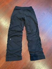 Ivivva Gathered Black Pants 8A