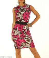 Linen Floral Shirt Dresses