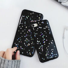 For Apple iPhone X 6 7 8 Plus Luxury Bling Star Case Clear Silicone Soft Cover