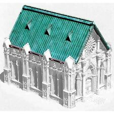 Armorcast 28mm Resin Terrain ACC022 Chapel Roof with Dormers New