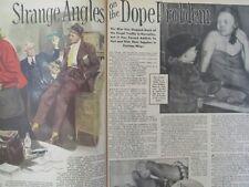 American Weekly, 1945, Drugs, Opium, Heroin, Morphine, Addicts, Addiction, Rare