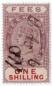(I.B) Leeward Islands Revenue : Fees 1/-