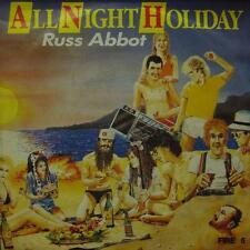 "Russ Abbot(7"" Vinyl P/S)All Night Holiday-FIRE 6-UK-VG/Ex"