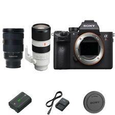 Sony A7R III / A7R3 DSLR Camera with 24-70mm GM and 70-200mm GM lens