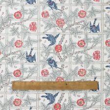 William Morris Trellis Cotton Floral Fabric By the Half Metre