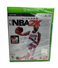 NBA 2K21 Microsoft Xbox One BRAND NEW Factory Sealed XB1