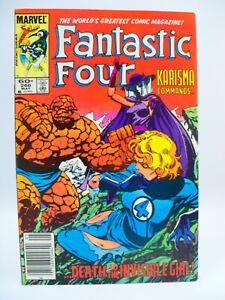Fantastic Four #266 1st Appearance Of Karisma! John Byrne 1984 Marvel