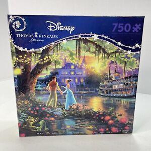 Ceaco Disney Thomas Kinkade The Princess And The Frog 750 Pc Jigsaw Puzzle - New