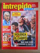 INTREPIDO n°23 1987 Vasco Rossi - Speciale Calcio Violento  [G492]