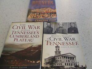 Three Civil War Books About Tennessee