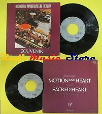 LP 45 7'' ORCHESTRAL MANOEUVRES IN THE DARK Souvenir Motion heart no cd mc dvd