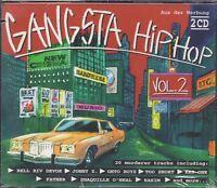 GANGSTA HIP HOP VOL. 2 * NEW 2CD'S * NEU *