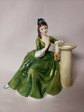 New ListingRoyal Doulton 1970 Secret Thoughts Bone China Figurine Hn 2382