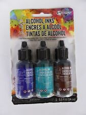 *NEW* (Ranger) TIM HOLTZ  Alcohol Ink SET OF 3 'MARINER'