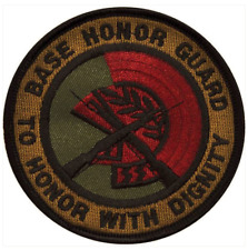 Vanguard AIR FORCE PATCH: BASE HONOR GUARD - SUBDUED (NON-REFUNDABLE)