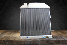 3 ROW RADIATOR FIT 1939 1940 1941 FORD Deluxe Sedan CHEVY ENGINE