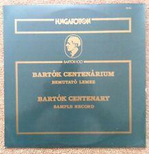 BEMUTATO LEMEZ  Bartok Centenary Sample Record HUNGAROTON PR-783 RARE!!!!