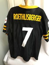 Ben Roethlisberger Pittsburgh Steelers NFL Jersey - Youth Large -Team Apparel