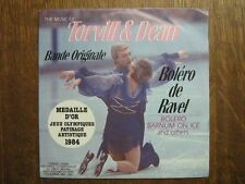 BOF JEUX OLYMPIQUES PATINAGE 1984 45 TOURS FRANCE