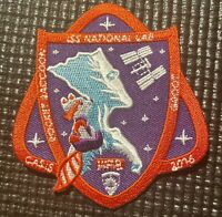"""RARE- NASA MARVEL ISS CASIS MISSION SPACE PATCH- 3"""" Width 3.5"""" Length"""