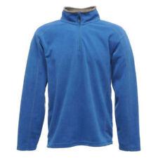 Abrigos y chaquetas de mujer polar de poliéster de color principal azul