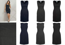 Polyester Wear to Work Stretch, Bodycon Machine Washable Dresses for Women
