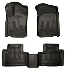 Husky Weatherbeater Front & Rear Floor Mats 2011-2015 Jeep Grand Cherokee 99051
