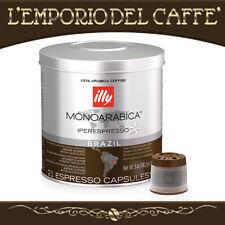 Caffè Caffe illy Iperespresso Mono Arabica Brasile 126 Capsule Cialde -ORIGINALE