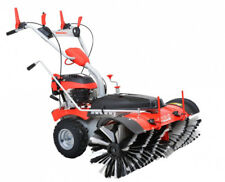 * Hecht 8101 Benzin Kehrmaschine Motorbesen Schneeschieber Schneefräse