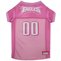 Philadelphia Eagles NFL Pets First Licensed Dog Pet Mesh Pink Jersey XS-L NWT
