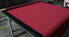 "Burgundy Bimini Top Boat Cover UV Outdoor Coated Marine Canvas Fabric DWR 60""W"